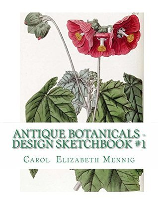 Antique Botanicals - Design Sketchbook #1 (Antique Botanical Design Sketchbook)