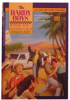 Mystery with a Dangerous Beat (Hardy Boys, #124)