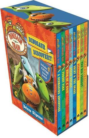 Dinosaur Train: Dinosaur Discovery! Deluxe 8 Book Slipcase