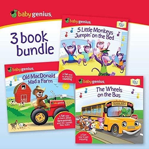 Baby Genius 3 Book Bundle