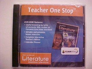 Holt McDougal American Literature Teacher One Stop DVD-ROM
