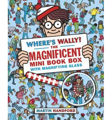 Where's Wally? The Magnificent Mini Book Box - 5 Books & Magnifying Glass