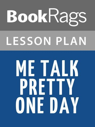 Me Talk Pretty One Day Lesson Plans