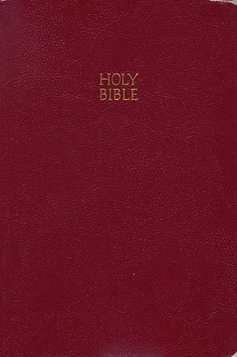 Giant Print End-Of-Verse Reference Bible-KJV