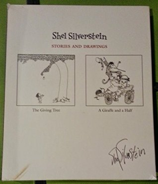 Shel Silverstein, Stories and Drawings (The Giving Tree and A Giraffe and a Half - Set of 2 Books in Case)