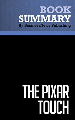 Summary: The Pixar Touch - David Price: The Making of a Company