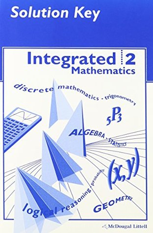 McDougal Littell Integrated Math: Solution Key Book 2