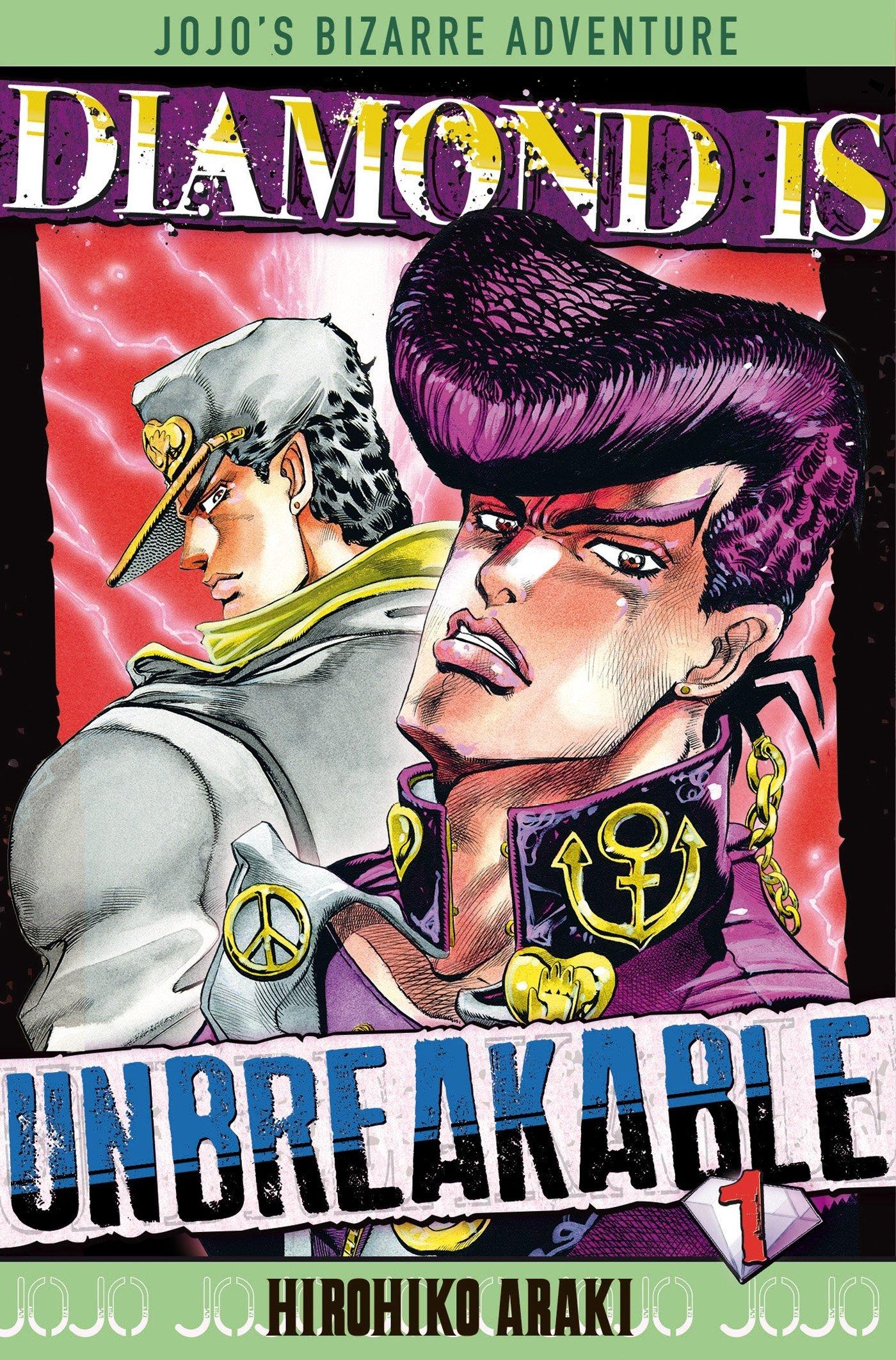 Jojo's Bizarre Adventure: Diamond is Unbreakable,  tome 1
