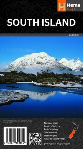 New Zealand - South Island 1:1M Hema