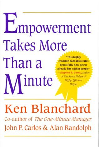 Empowerment takes more than a minute by kenneth h blanchard fandeluxe Image collections