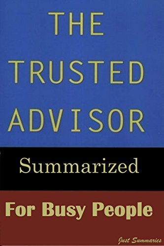 Trusted Advisor Summarized for Busy People