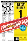 Crossword Page-a-Day Notepad and 2015 Calendar