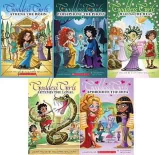 Goddess Girls 5 Book Boxed Set: Artemis the Loyal, Aphrodite the Diva, Athena the Brain, Persephone the Phony, Medusa the Mean (Goddess Girls, 5 Book Set)