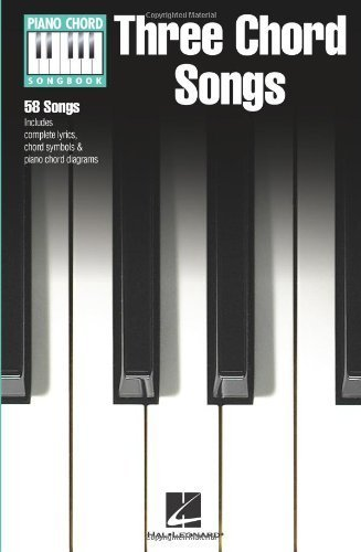 Three Chord Songs - Piano Chord Songbook