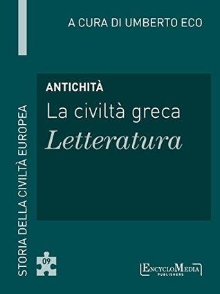 Antichità - La civiltà greca - Letteratura