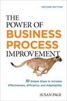 buy book  The Power of Business Process Improvement: 10 Simple Steps to Increase Effectiveness, Efficiency, and Adaptability