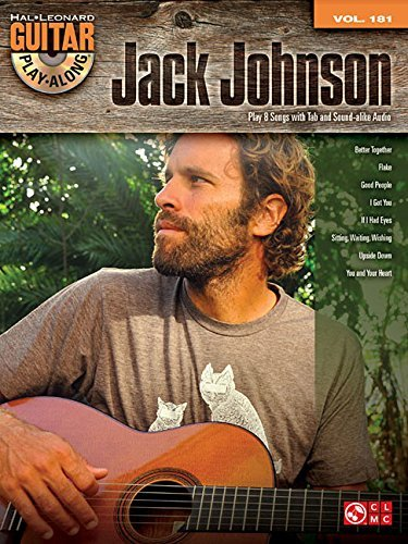 Jack Johnson: Guitar Play-Along Volume 181