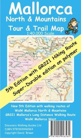 Mallorca North & Mountains Tour & Trail Map Super-Durable 5th edition