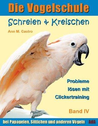 Schreien & Kreischen bei Papageien, Sittichen und anderen Vögeln: Probleme lösen mit Clickertraining. Die Vogelschule