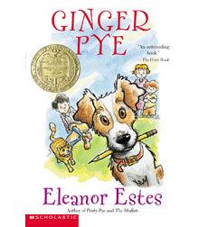ginger pye book report