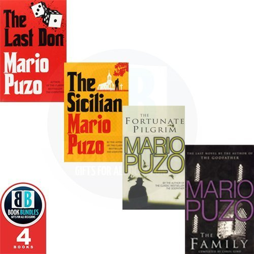 Mario Puzo 4 Books Collection Pack