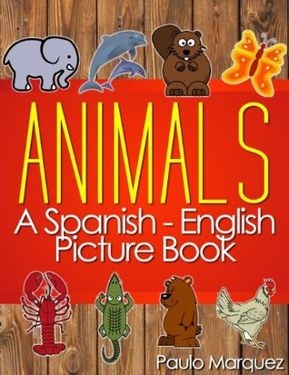 Spanish Flash Cards for Kids - Animals