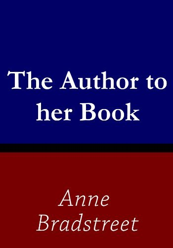 The Author to her Book