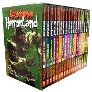 Goosebumps Horrorland Series Collection R.L. Stine 18 Books Box Set