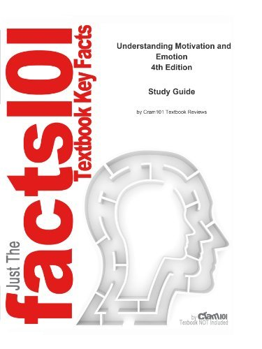 e-Study Guide for: Understanding Motivation and Emotion by Reeve, ISBN 9780471456193