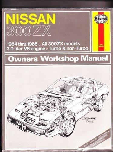 Nissan 300Zx: Automotive Repair Manual- 1984 Thru 1986 All Models, No. 1137