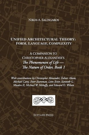 Unified Architectural Theory Form Language Complexity By Nikos A