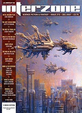 Interzone 213, December 2007 (Interzone, #213)