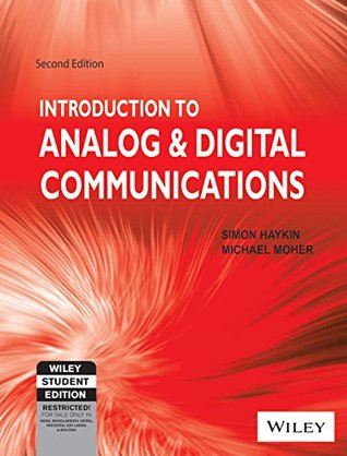 Introduction to Analog & Digital Communications