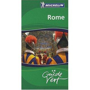 Michelin GReen Sightseeing Travel Guide to Rome