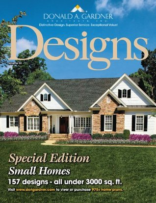 Home Designs-Small Homes Under 3,000 Sq Ft