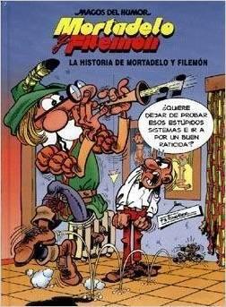 La historia de Mortadelo y Filemón (Mortadelo y Filemón, #10)