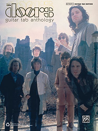 The Doors: Guitar TAB Anthology: Authentic Guitar TAB Sheet Music Songbook Collection