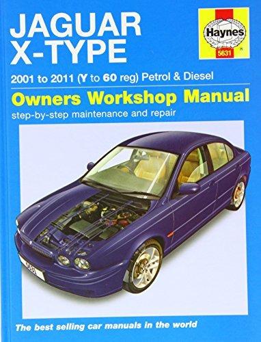 Jaguar X-type Petrol & Diesel Service and Repair Manual 2001 - 2011