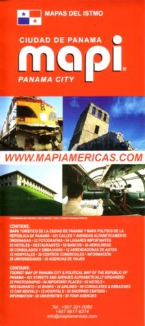 Panama City Map/Guide by Mapi Panama