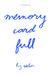 Memory Card Full