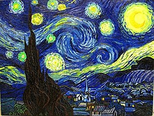 Counted Cross Stitch Patterns: Starry Night by Van Gogh (Great Artists Series)