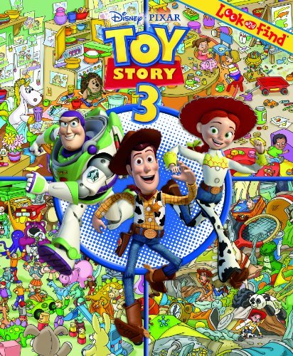 Toy Story 3: Look and Find