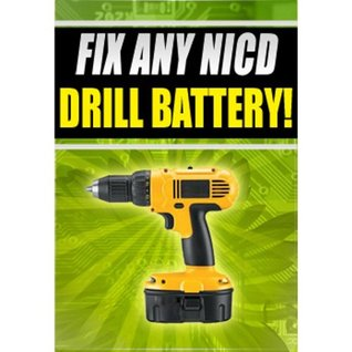 Fix Any NICD Bosch Battery CFL180B CRS180 CRS180B 12v 18v 24v