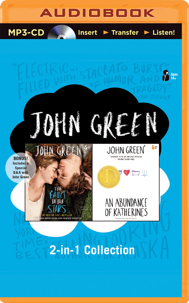 John Green 2-in-1 Collection: The Fault in Our Stars / An Abundance of Katherines
