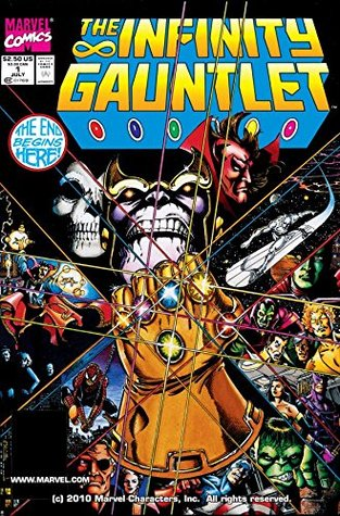 Infinity Gauntlet #1 by Jim Starlin