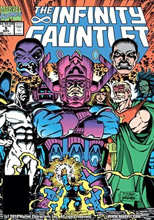 Infinity Gauntlet #5 by Jim Starlin
