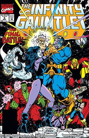 Infinity Gauntlet #6 by Jim Starlin