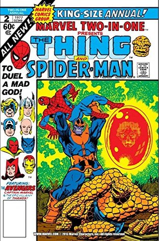 Marvel Two-In-One (1974-1983) Annual #2 by Jim Starlin