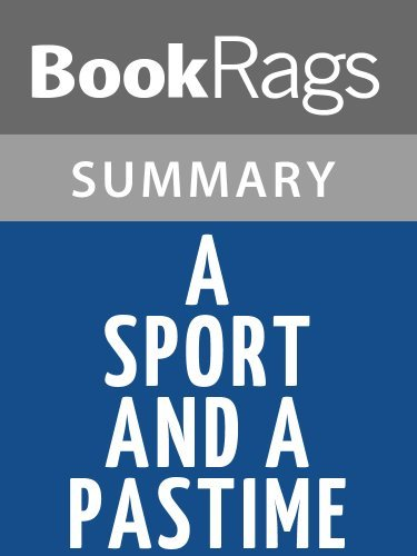 A Sport and a Pastime by James Salter | Summary & Study Guide