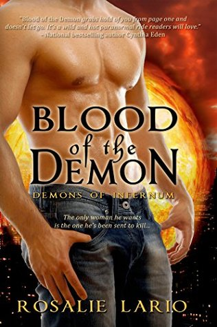 Blood of the Demon (Demons of Infernum) by Rosalie Lario